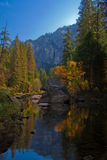 Autumn in Yosemite National Park Stock Images