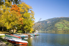 Autumn in Zell am See Stock Photos