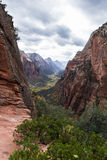 Autumn in Zion NP Royalty Free Stock Photo