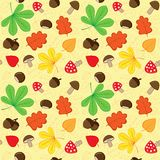 Autumnal background vector illustration