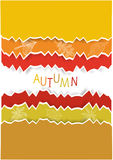 Autumnal background Royalty Free Stock Images