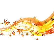 Autumnal background Royalty Free Stock Photos