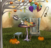 Autumnal banquet Royalty Free Stock Photography