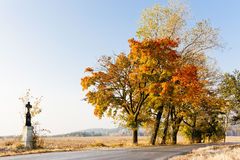 Autumnal countryside Stock Photos