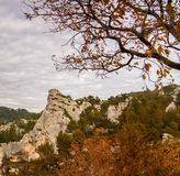 Autumnal day in mountains Royalty Free Stock Image