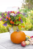 Autumnal decoration Stock Images