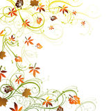 Autumnal design Royalty Free Stock Photography