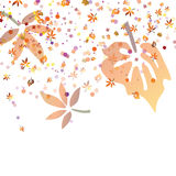 Autumnal design Royalty Free Stock Images