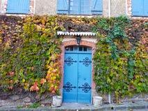 Autumnal facade stock photography