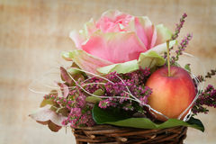Autumnal Flower Arrangement Royalty Free Stock Photo