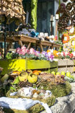 Autumnal Flower Shop Royalty Free Stock Images