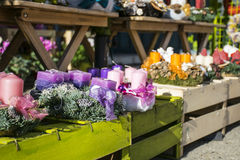Autumnal Flower Shop Royalty Free Stock Image