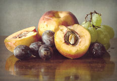 Autumnal fruits Royalty Free Stock Image