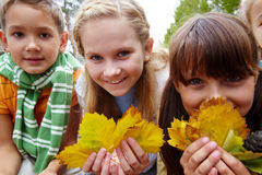 Autumnal fun Stock Images