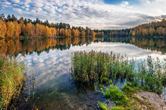 Autumnal lake Royalty Free Stock Photography