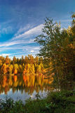 Autumnal lake Royalty Free Stock Images
