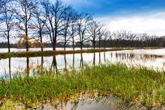 Autumnal landscape, South Bohemia, Czech Republic Stock Images