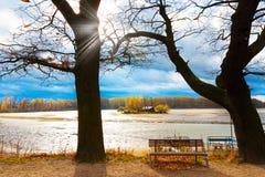 Autumnal landscape, South Bohemia, Czech Republic Royalty Free Stock Photo
