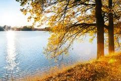 Autumnal landscape, South Bohemia, Czech Republic Stock Photo