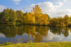Autumnal landscape. Stock Photography
