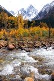 Autumnal Mountain Scenery Stock Image
