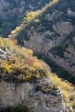 Autumnal mountain scenery Stock Photos