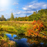 Autumnal nature, scenery Royalty Free Stock Photography