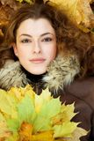 Autumnal portait Royalty Free Stock Image
