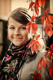 Autumnal Portrait Royalty Free Stock Photography