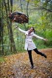 Autumnal portrait Royalty Free Stock Photo