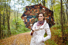 Autumnal portrait Stock Photography