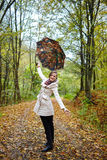 Autumnal portrait Stock Photography