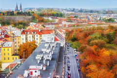 Autumnal Prague Royalty Free Stock Images