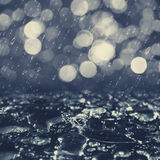 Autumnal rain Royalty Free Stock Images