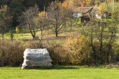Autumnal rural idyll Stock Photos