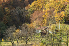 autumnal rural idyll Stock Images