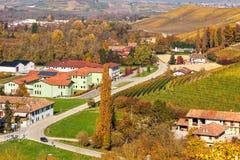 Autumnal rural view. Stock Photos