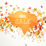 Autumnal Sale Design Royalty Free Stock Images