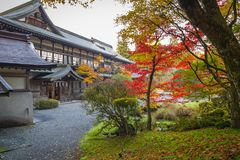 Autumnal scenery of Nikko national park Stock Photo