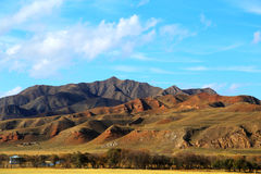 The Autumnal Scenery of Qinghai - Tibet Plateau Stock Photo
