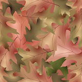 Autumnal seamless 02. Autumnal seamless pattern,vector illustration clip-art Stock Images
