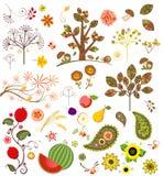 Autumnal set Stock Photo