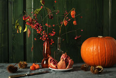 Autumnal still life Royalty Free Stock Photos