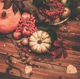 Autumnal still life Stock Images