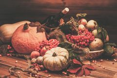 Autumnal still life Royalty Free Stock Photo