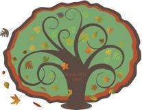 Autumnal  tree. Royalty Free Stock Photos