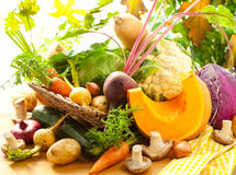 Autumnal vegetables Royalty Free Stock Photography