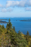 Autumnal view from Koli Royalty Free Stock Images