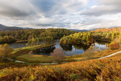 Autumnal View of Tarn Hows in The Lake District, UK Stock Images
