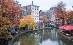 Autumncolors in Utrecht Stock Photos